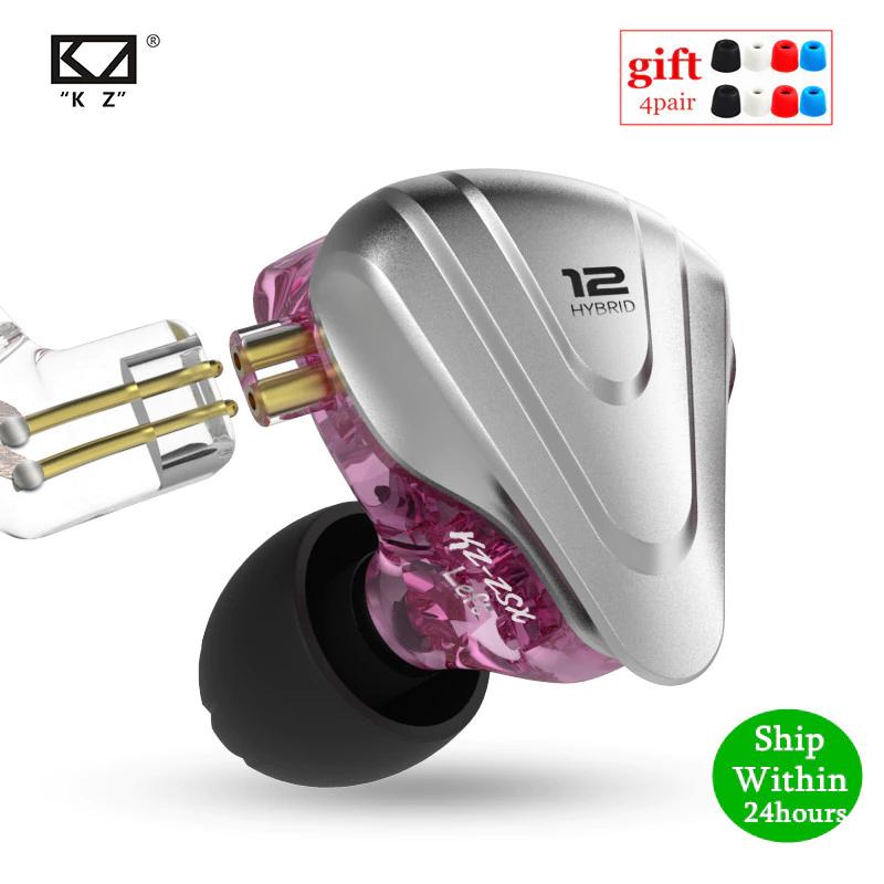 Auriculares intraurales de kz, modelo zsx, calidad hi-fi a bajo precio