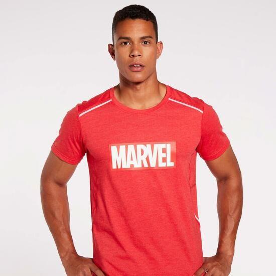 Camiseta Running Marvel. Tallas S y L. envío gratuito a tienda.