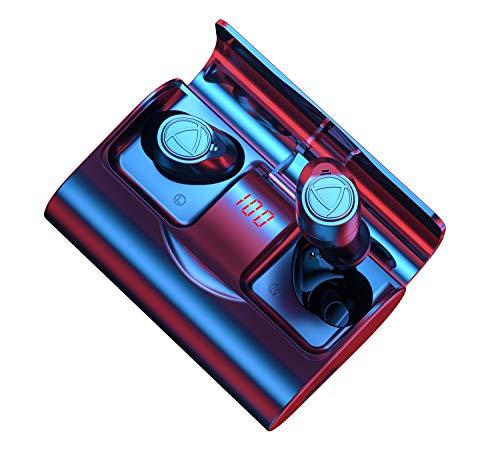 Auriculares inalámbricos Bluetooth 5.1 sonido estéreo 6D de Alta fidelidad, Graves potentes, IPX7 Impermeable