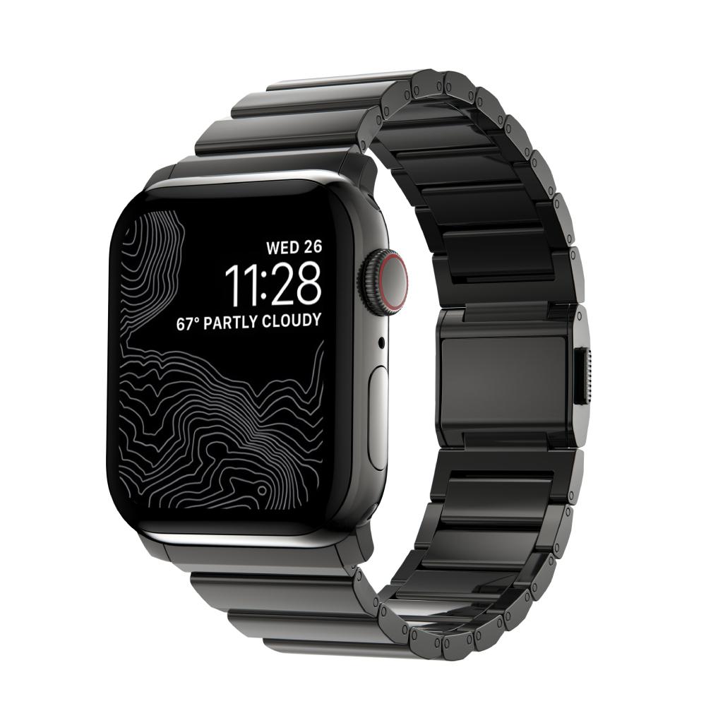 Correa Apple Watch 42/44 Nomad Steel V2