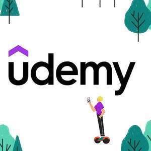 Cursos Excel, Python, Apache, Video, Adobe, Fotografía y otros [Udemy]