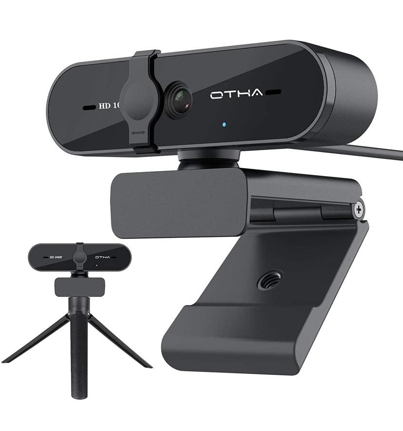 Webcam 1080p giratoria con Micrófono (Oferta Flash + cupón)