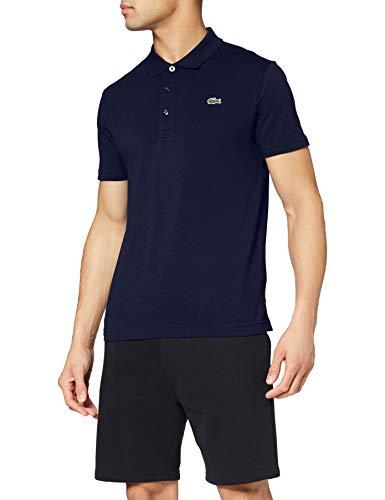 Lacoste YH4801 00 Polo Sport para Hombre Talla M Color Azul Marino