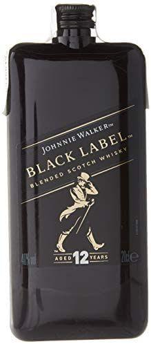 Johnnie Walker Etiqueta Negra Scotch Whisky Edición de Bolsillo, 200ml