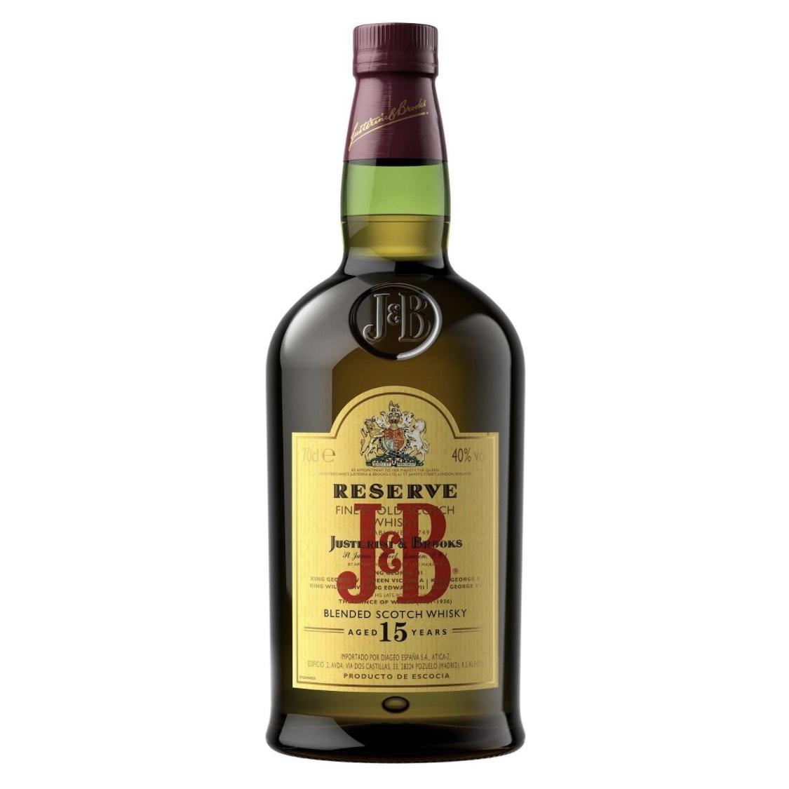 Whisky J&B Reserva 15 años 700ml