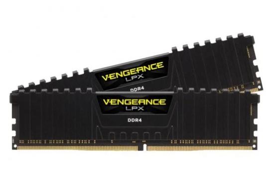 Memoria Ram Corsair Vengeance LPX DDR4 3200 PC4 25600 16GB 2X8GB CL16 Negro
