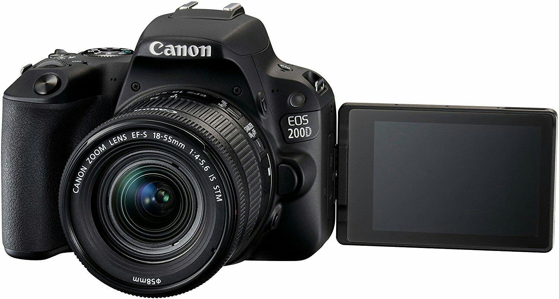 Canon EOS 200D - Cámara digital réflex de 24.2 MP