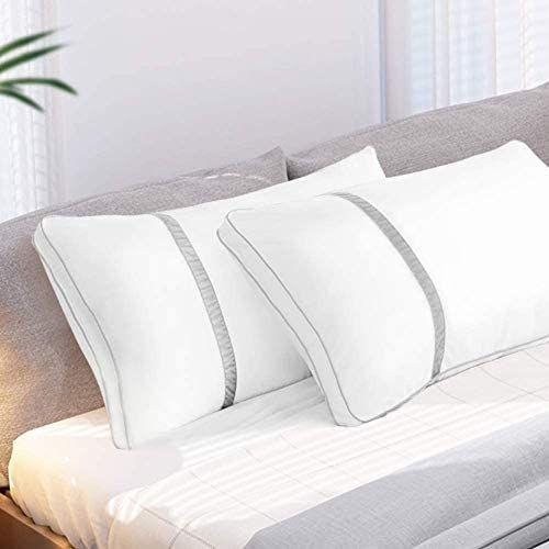 BedStory Almohadas Fibra 50×75 con Relleno