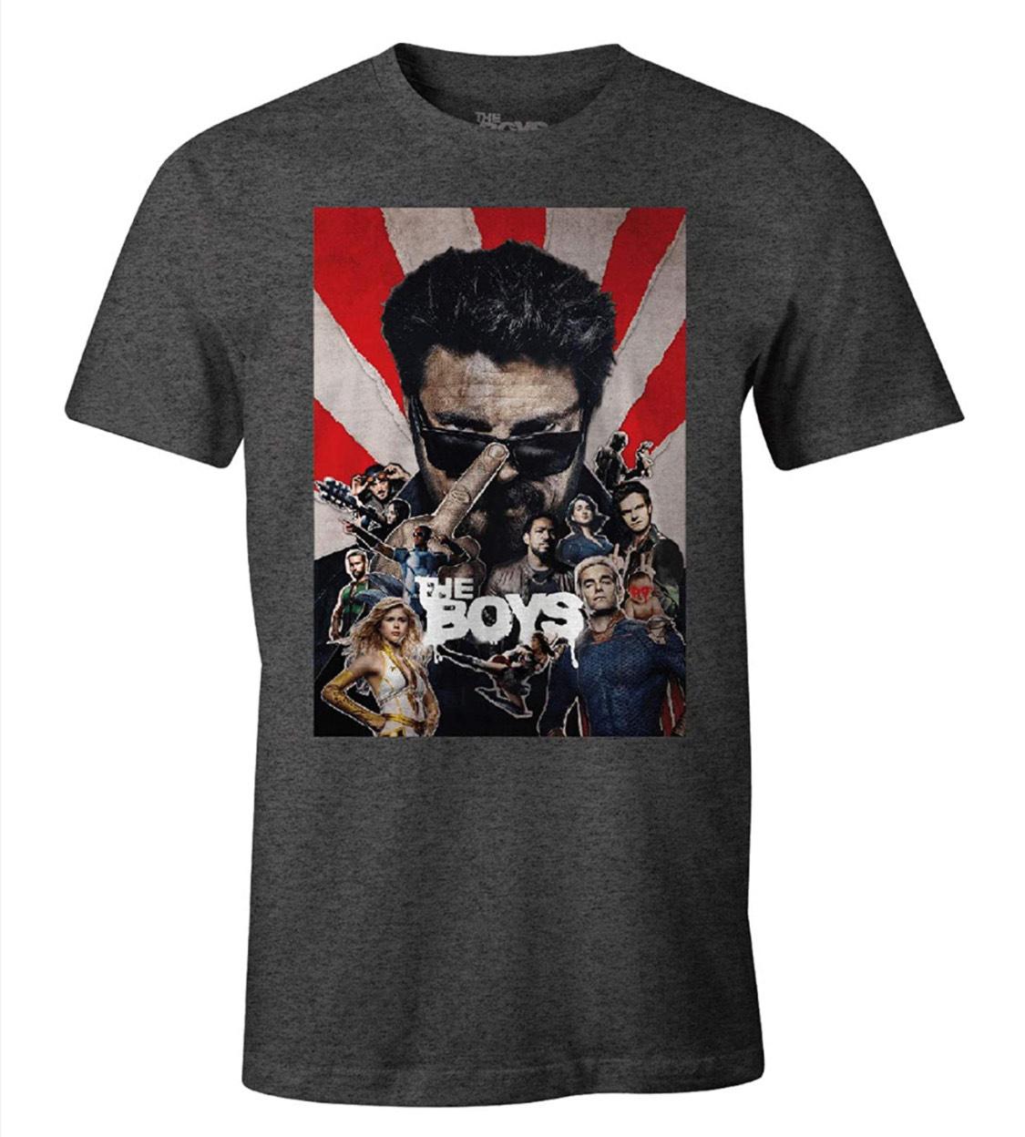 """Camiseta """"The Boys"""" adulto talla XXL (S a 5,08€) Con licencia oficial."""