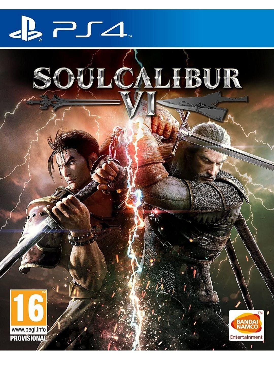 SoulCalibur VI - PS4 (Mediamarkt y Amazon)
