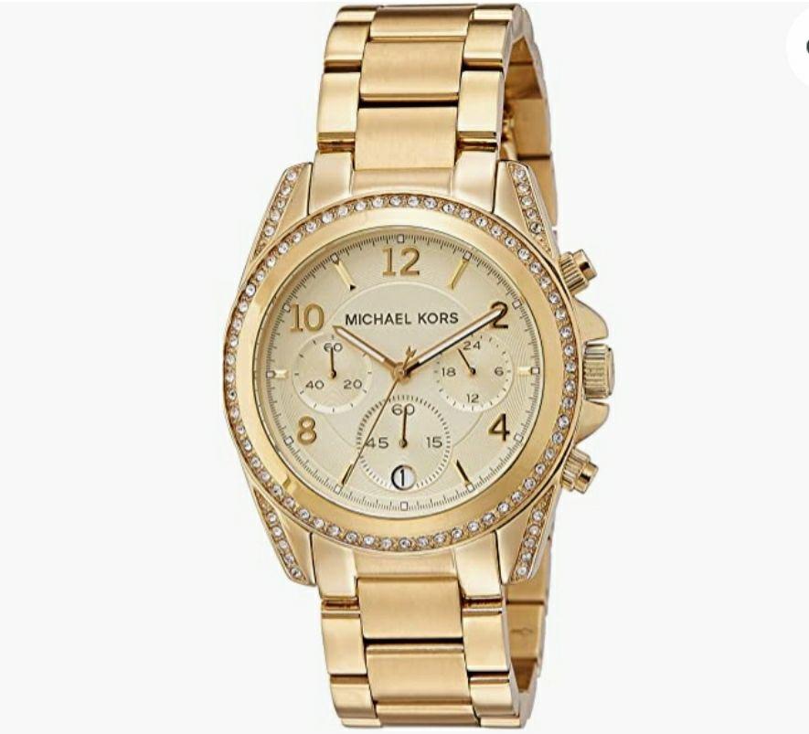 Reloj Michael Kors mujer cronógrafo de cuarzo 38mm 10atm