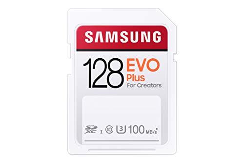 Tarjeta de Memoria EVO Plus 128 GB SDXC UHS-I U3