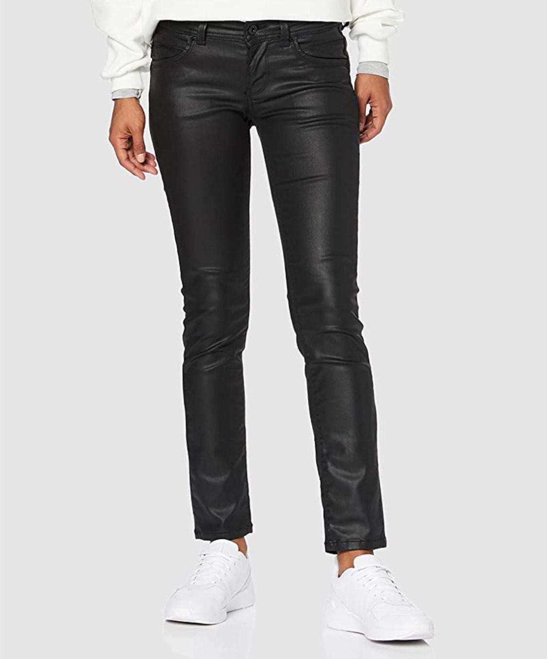 Pantalones Pepe Jeans efecto piel mujer talla 34W/34L (44 largo)