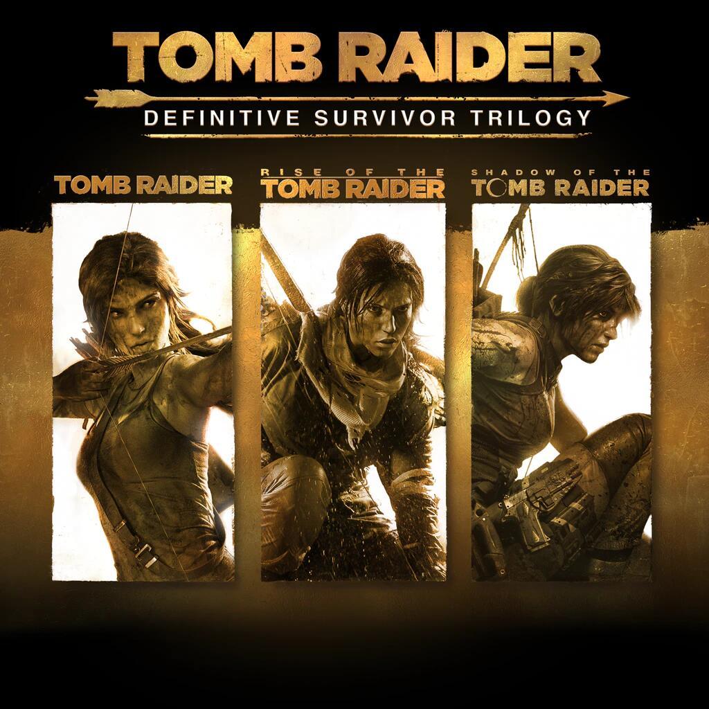 Tomb Raider: Definitive Survivor Trilogy PS4/PS5 por solo 19,99€
