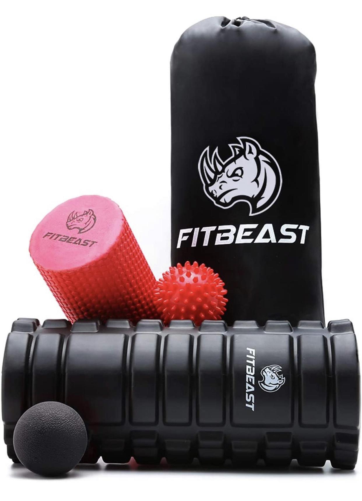 FitBeast Rodillos de Espuma para Ejercicios musculares
