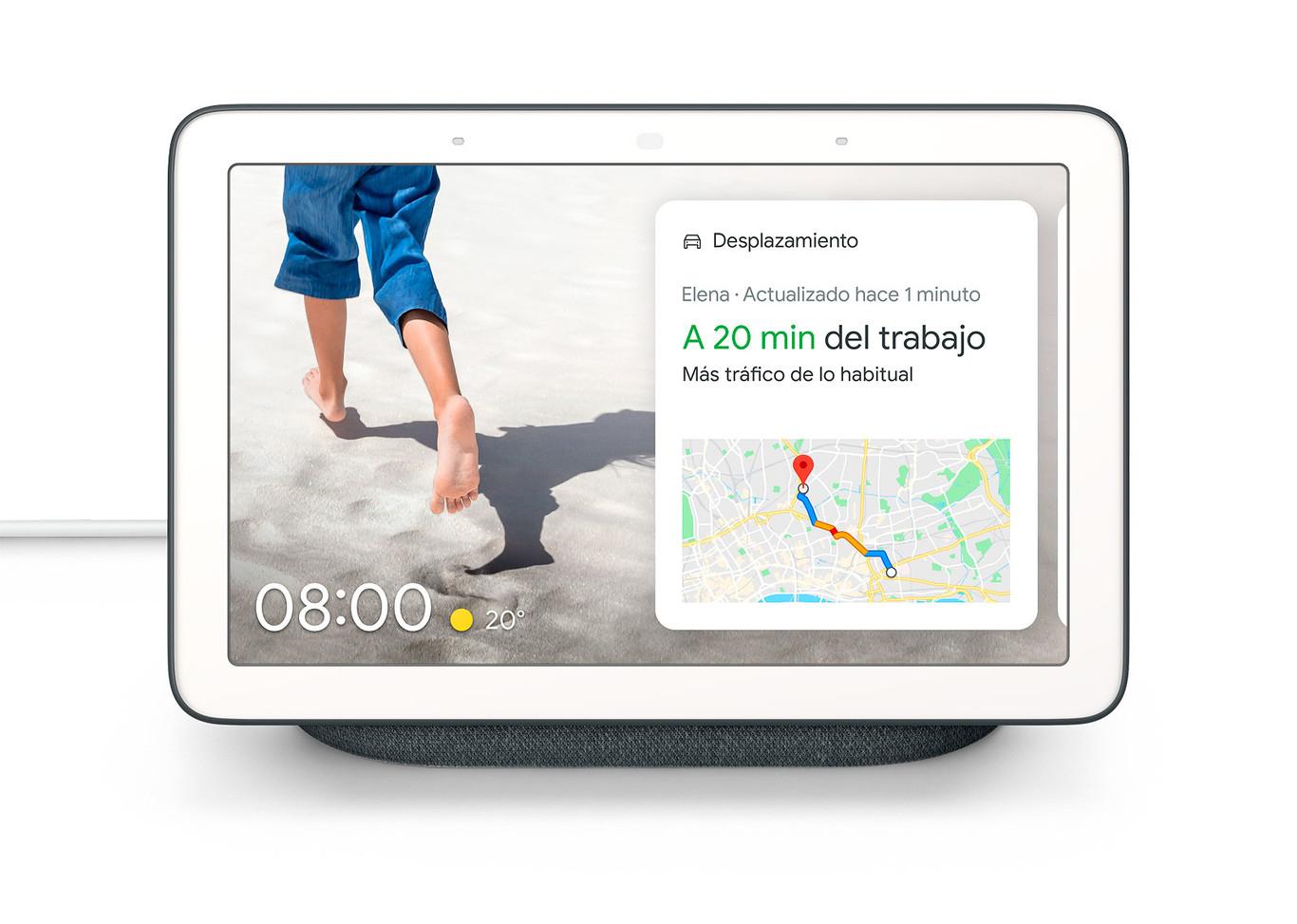 Google Nest Hub (2ª gen.) con WAYLET