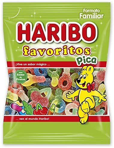 Haribo Favoritos Pica Caramelos de Goma, 275g (precio mínimo)