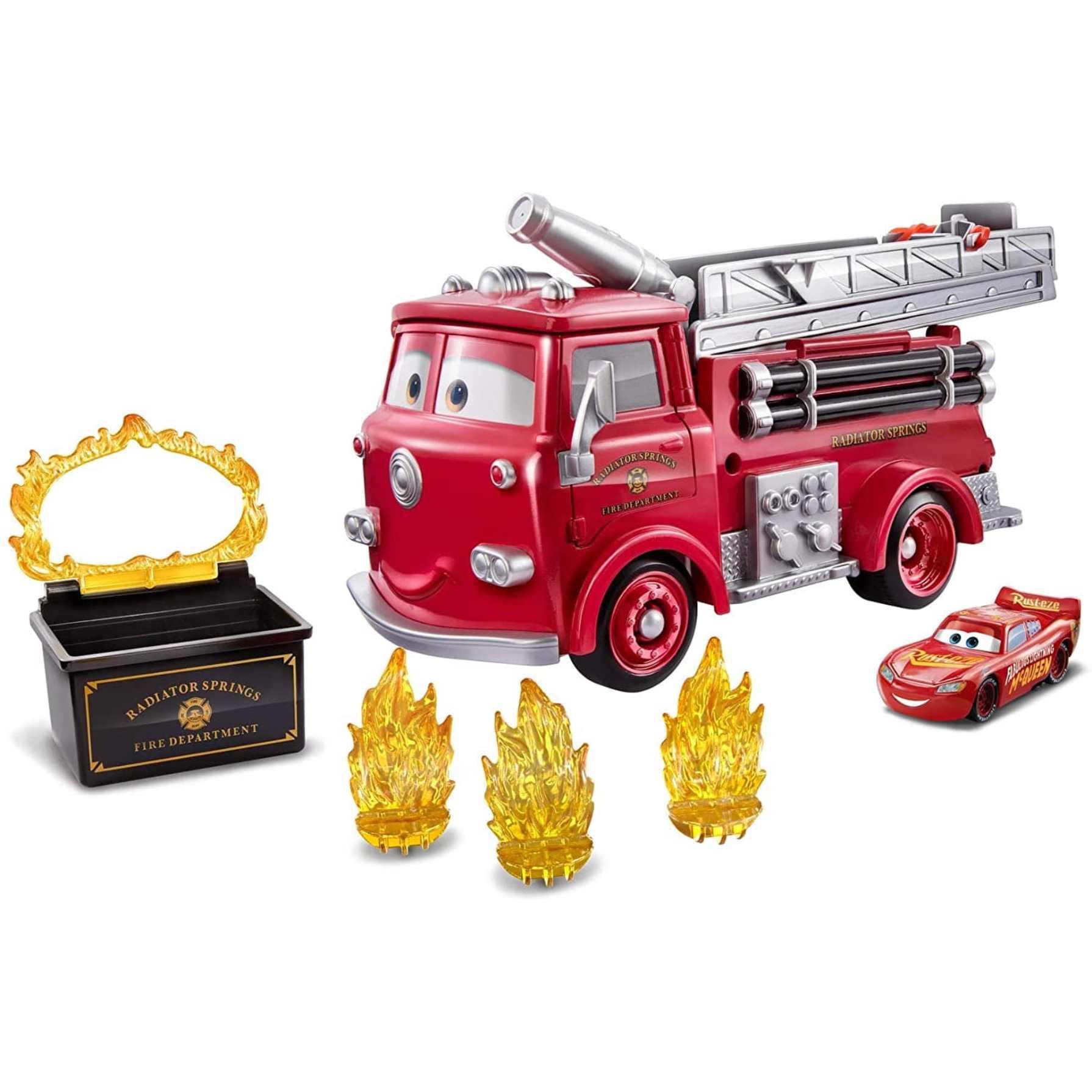 Disney Pixar Disney Camión Bomberos + Vehículo Rayo McQueen   AlCampo Torrejón de Ardoz
