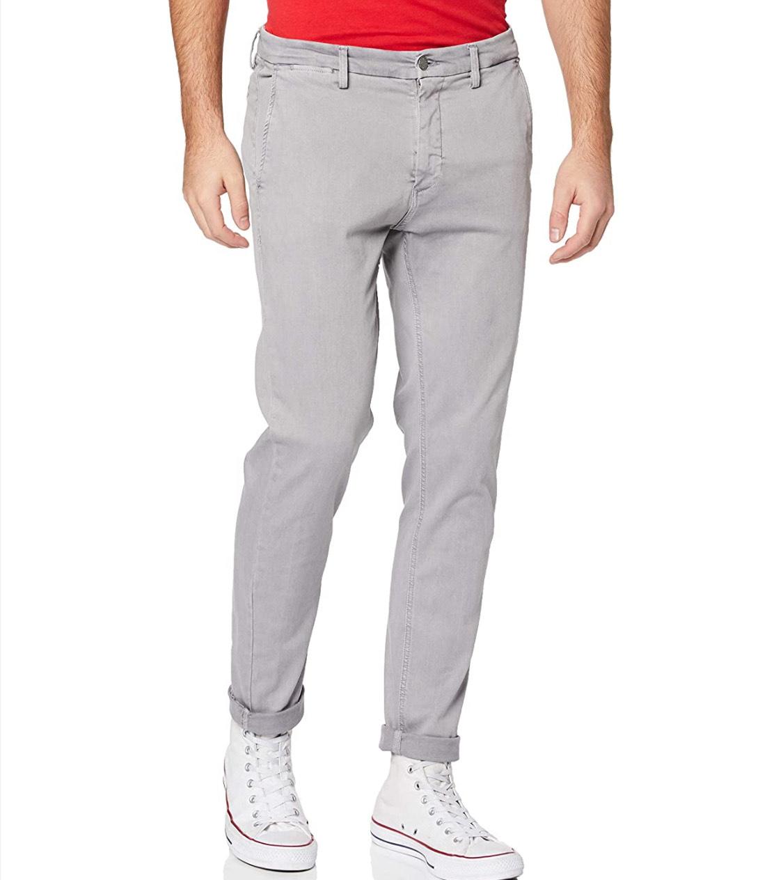 Pantalón REPLAY hombre talla 29W/30L (38 corto) 29W/34L azul claro a 20,64€.