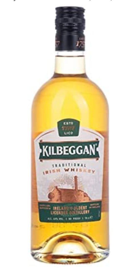 Kilbeggan - Whisky irlandés tradicional, 40%, 700ml