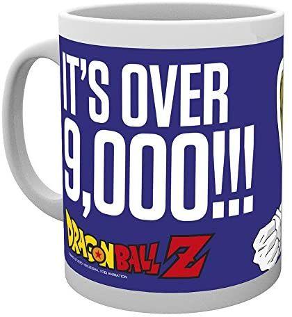 Taza Dragon Ball It,s over 9000!!!
