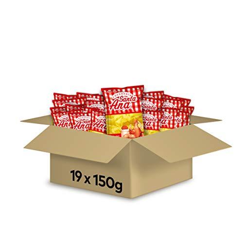 Santa Ana Patatas De Churrería 150 g - Pack de 19