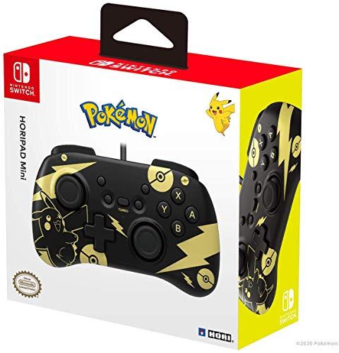 Mando Pikachu Black&Gold para Nintendo Switch por sólo 13,67€