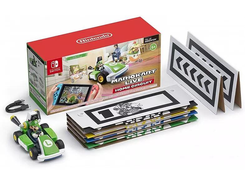 Mario Kart Live Luigi por 63,99€ (Mario por 71,99€)
