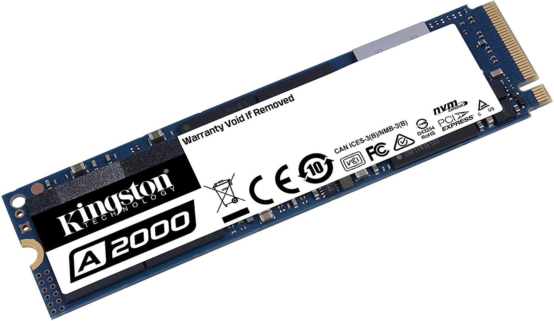 Disco duro SSD NVMe Kingston 500GB M.2 2280