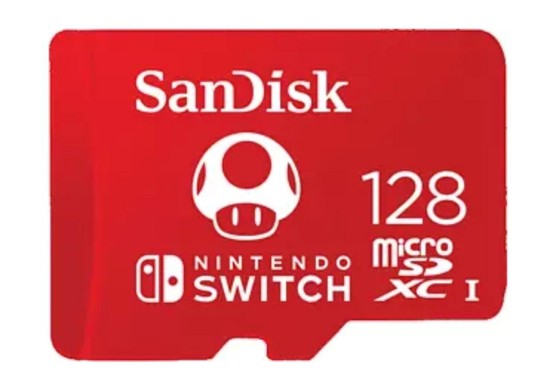 SanDisk Licencia Nintendo®, 128 GB, Para Nintendo Switch