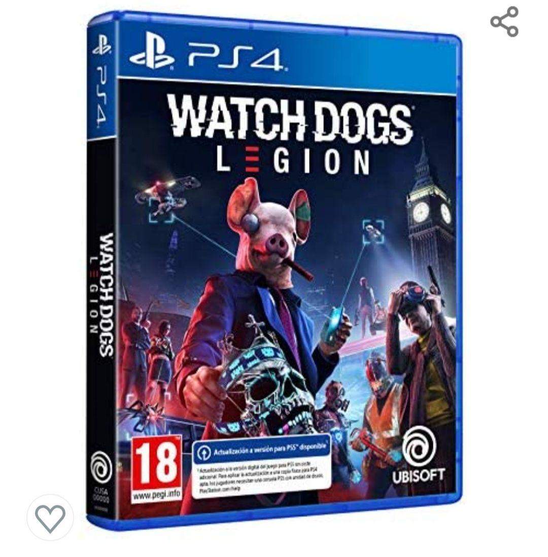 Watch Dogs Legion PS4/PS5 en Amazon