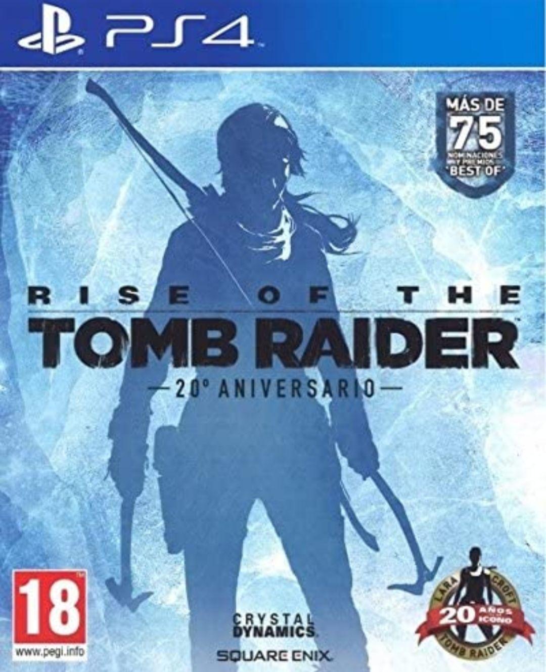 Rise Of The Tomb Rider: 20 Aniversario PS4