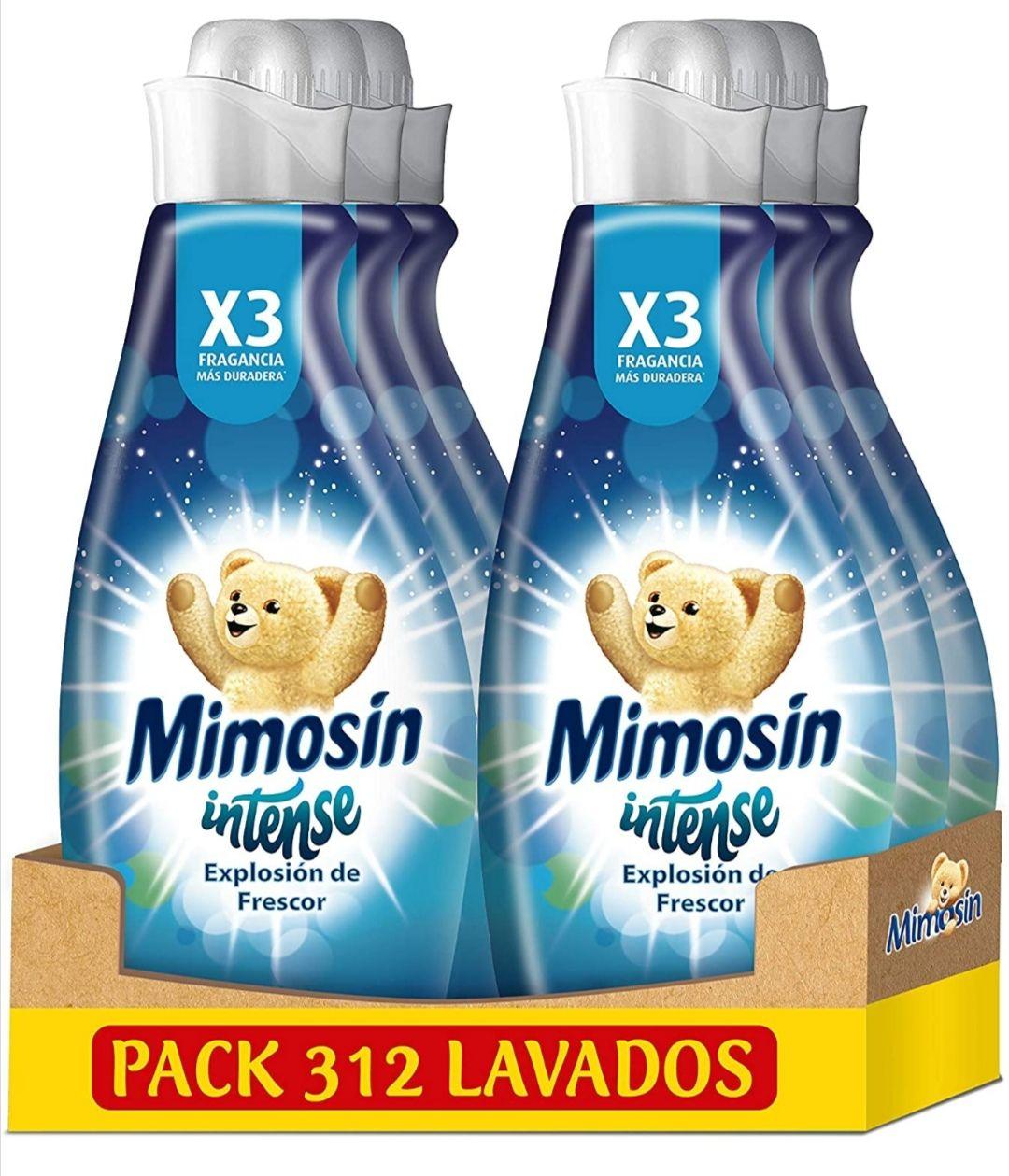 Mimosin intense suavizante pack de 6 - 312 lavados