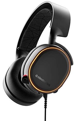 SteelSeries Arctis 5 - 7.1 Rgb, Dts Headphone:X V2.0 Surround Para PC, Playstation 5 Y PlayStation 4 - Negro