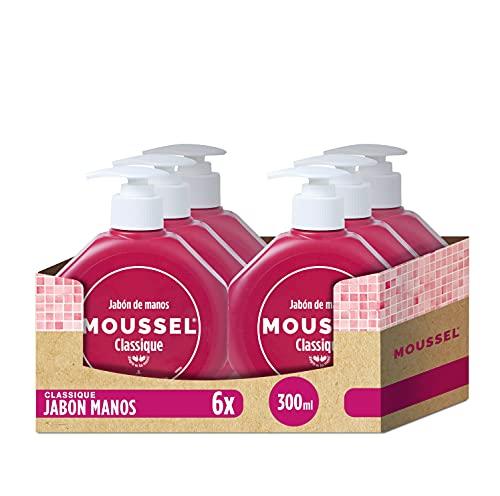 Moussel Jabón de Manos Classique Original 300ml - Pack de 6