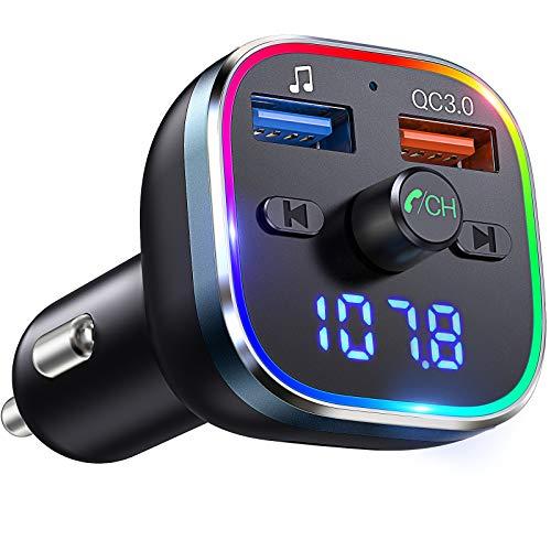 Transmisor FM Bluetooth Coche + Cargador