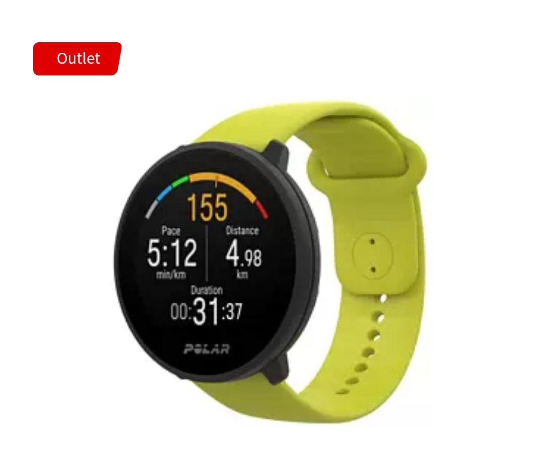 Reloj Deportivo - Polar Unite, 130-210 mm, IPS TFT, GPS, FitSpark™, Precision Prime™ (2 colores) tb en Amazon