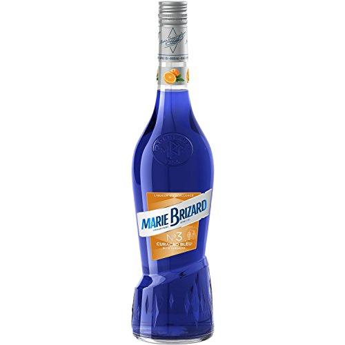 Marie Brizard Curacao Bleu Crema de Licor - 6 botellas x 700ml-