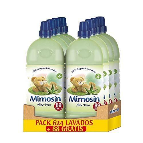 Pack de 8 botellas x 89 lavados (712 lavados) de Mimosín Concentrado Aloe Vera (0,026€/lavado)