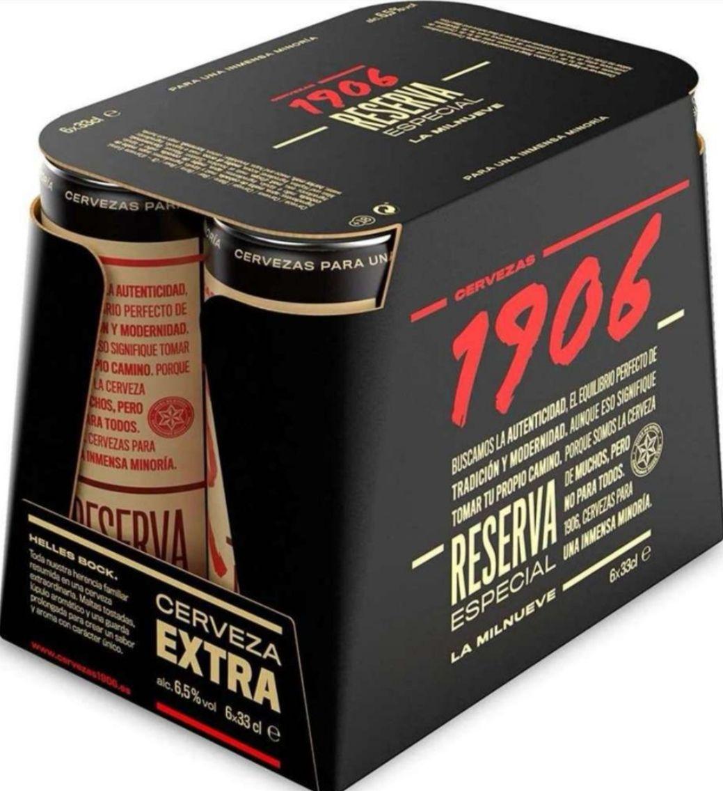 Cerveza reserva extra Especial 1906 [pack 6 uds. x 33cl]