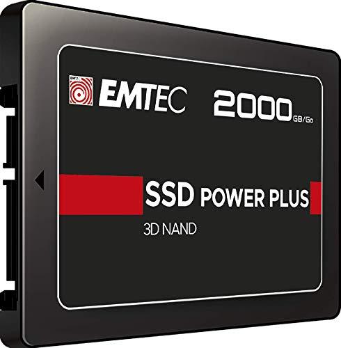 "Emtec - Disco Duro SSD Interno 2TB (2,5"", SATA X150 Power Plus 3D NAND"