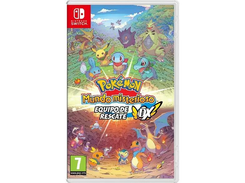 Nintendo Switch Pokémon Mundo Misterioso: Equipo de Rescate DX