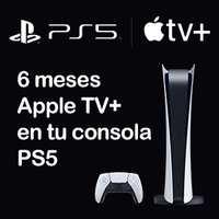 GRATIS :: 6 meses Apple TV+ en PS5