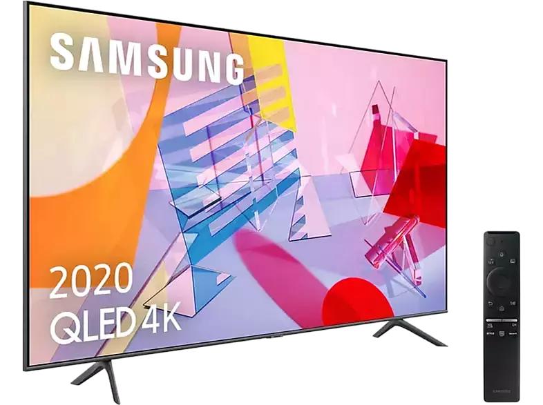 """TV QLED 65"""" - Samsung 65Q60T, 4K UHD 2020, Smart TV, HDR 10+, IA, Asistentes de voz"""