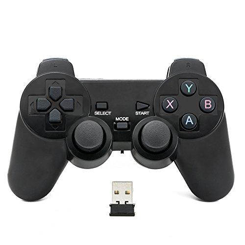 2.4GHz Gamepad Joystick Gamepad para PC (Aplicar 80%)