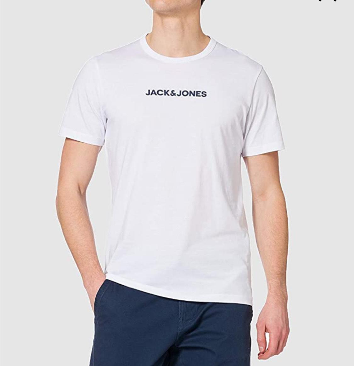 Pack tres camisetas Jack & Jones adulto talla XL (S negras a 11.74€)