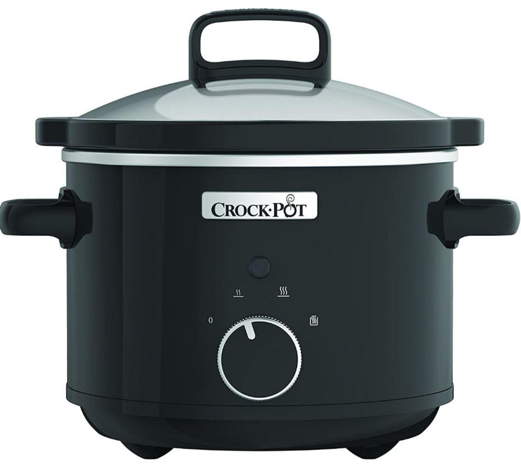 Olla - Crock-Pot CSC046X, De cocción lenta, 180W, 2.4l. (Recetas incluidas)