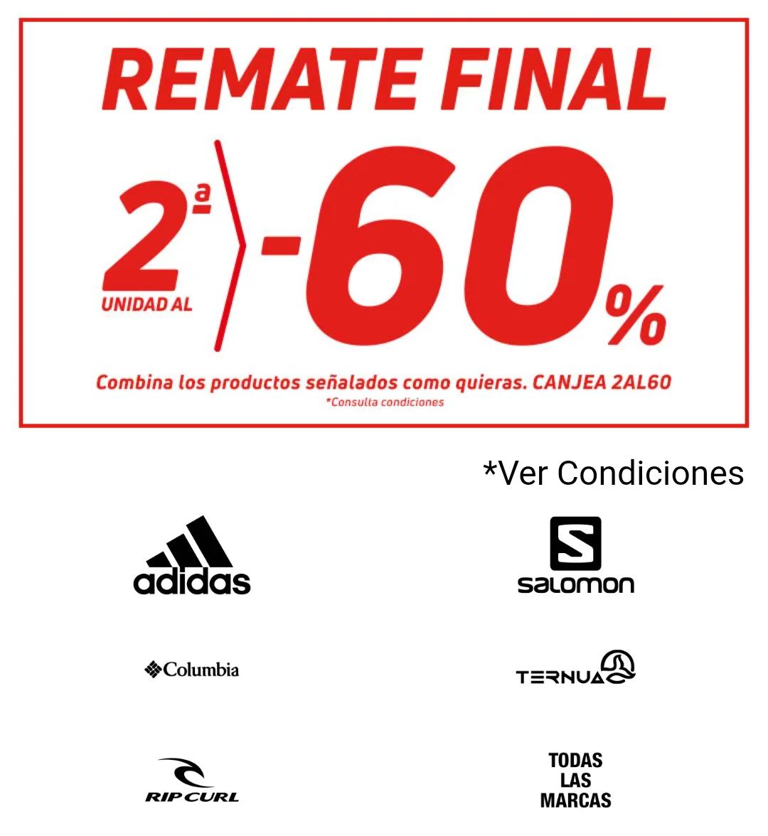 Forum Sport - Descuento 60% en la 2ª unidad
