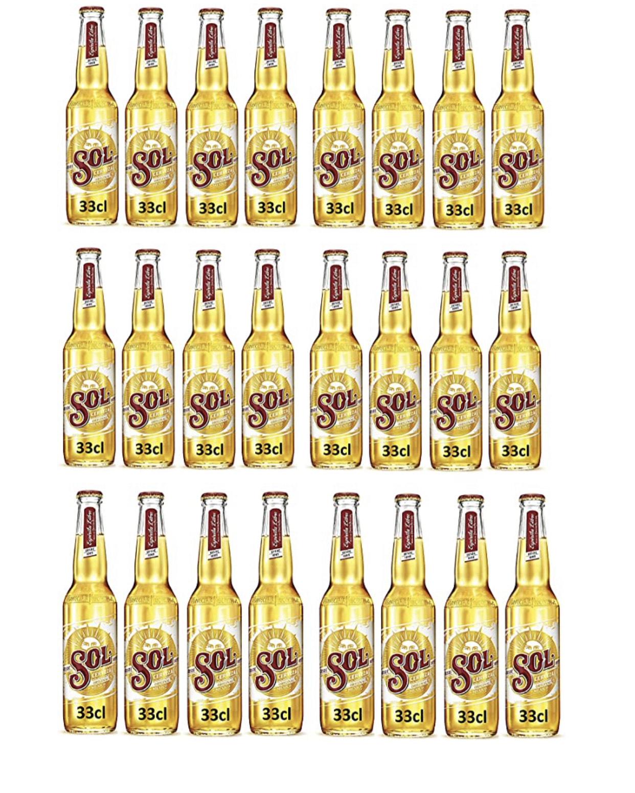 Cerveza sol 33cl