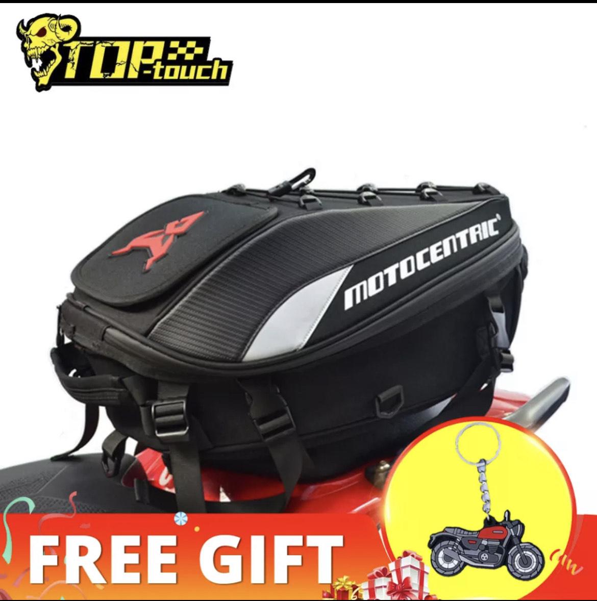 Mochila trasera motocentric para moto